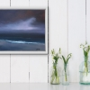'Awakening' - abstract seascape by Louise Turnbull