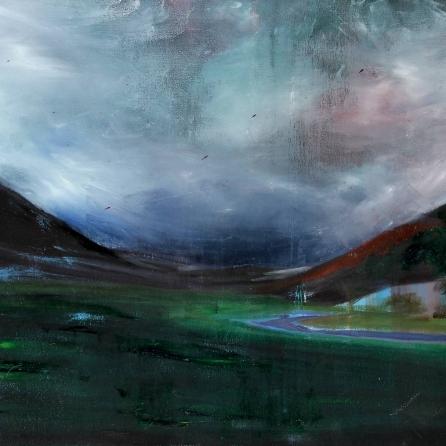 Tweed Valley: autumn closing in