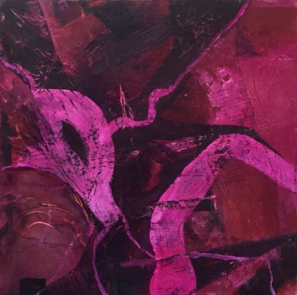 'Divine magenta #1' by Louise Turnbull