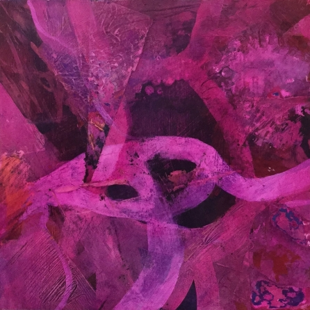 'Divine magenta #2' by Louise Turnbull