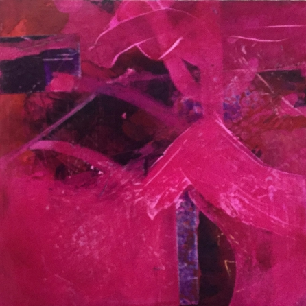'Divine magenta #3' by Louise Turnbull