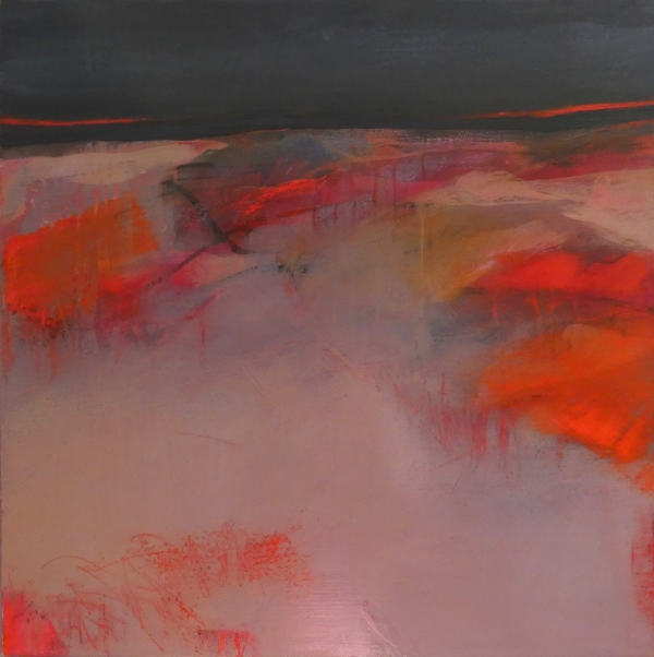 'Reaching solitude' by Louise Turnbull