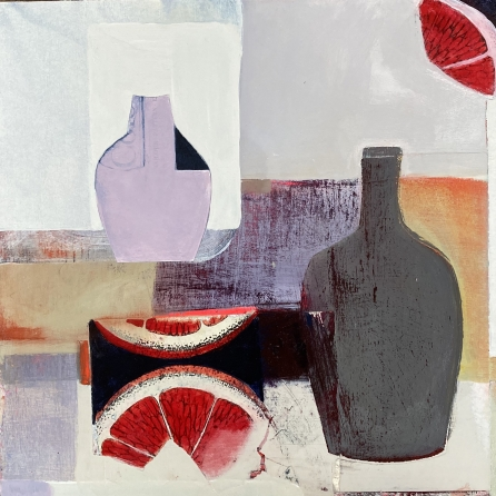 'Left bank #1' by Louise Turnbull
