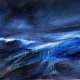 'Night storm' print by Louise Turnbull