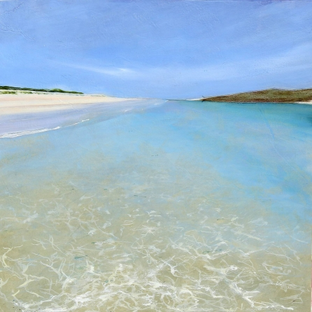 'Luskentyre series, #2' print by Louise Turnbull