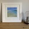 'Luskentyre series, #2' print by Louise Turnbull - as framed