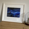 'Night storm' print by Louise Turnbull - sample frame