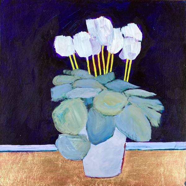 'Cyclamen celebration #2' by Louise Turnbull