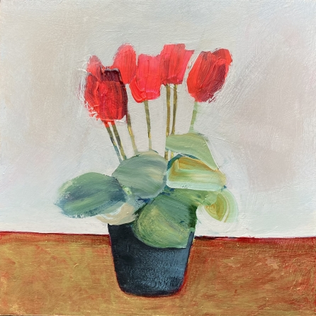 'Cyclamen celebration' by Louise Turnbull