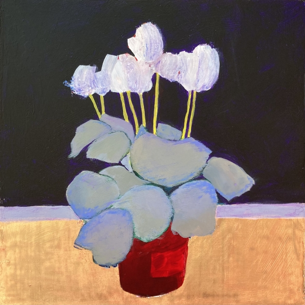 'Cyclamen celebration #3' by Louise Turnbull