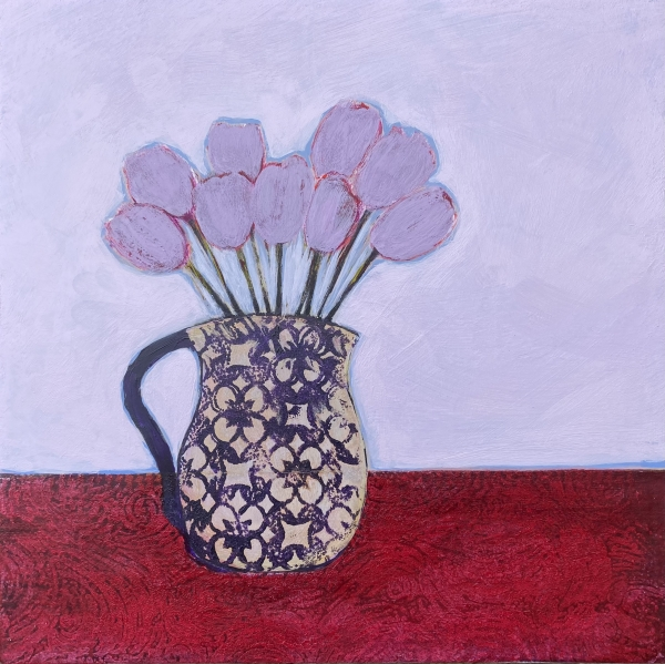 'Tulip afternoon' by Louise Turnbull